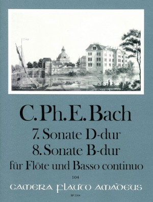 Bach, C P E: Sonatas No. 7 D major & No. 8 Bb major Wq 129/130