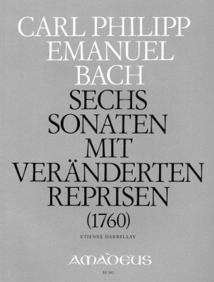 Bach, C P E: 6 Sonatas Wq 50