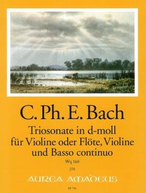 Bach, C P E: Sonata a tre in D minor Wq 160