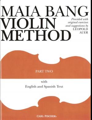 Maia Bang Violin Method Part Two