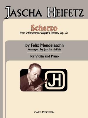 Mendelssohn: Scherzo (aus Sommernachtstraum)