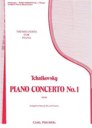 Tchaikovsky: Klavierkonzert Nr.1 in  b-moll. Thema