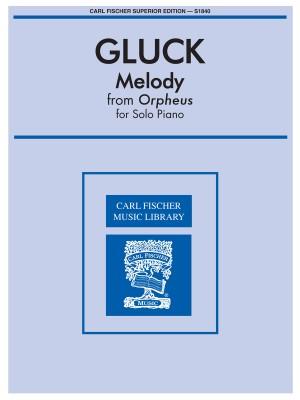 Gluck: Orpheus Ballet Music No.2 S.pf