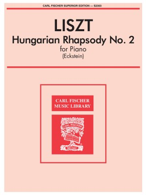 Franz Liszt: Hungarian Rhapsody No. 2