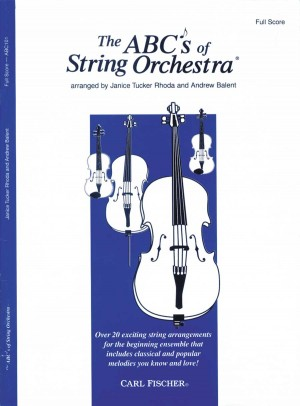Rhoda: The ABCs of String Orchestra (Score)