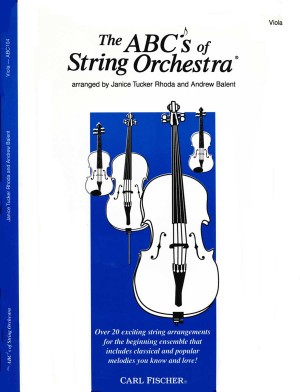Rhoda: The ABCs of String Orchestra (Viola)
