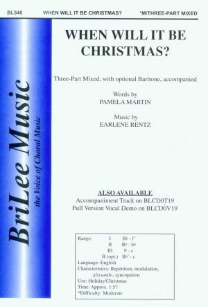 Earlene Rentz_Pamela Martin Tomlinson: When Will It Be Christmas?