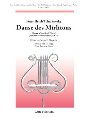 Tchaikovsky: Tanz der Rohrflöten (Nussknacker-Suite op. 71