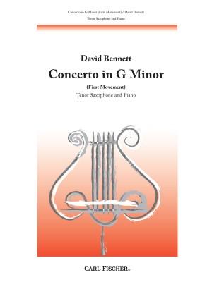 Bennett: Concerto in G minor: 1st Movement (ten)