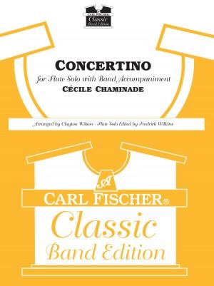Chaminade, C: Concertino, (fl Solo) Op.107