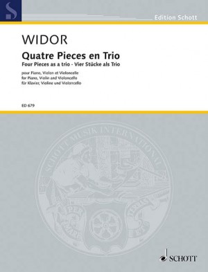 Widor, C: Four Pieces as a trio