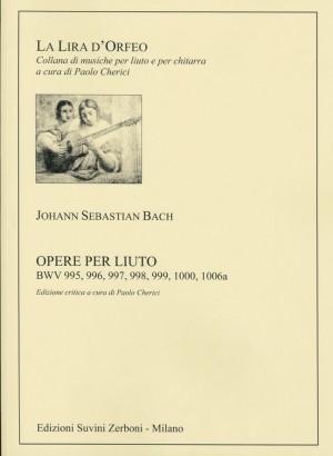 Bach, J S: Opere Complete per Liuto