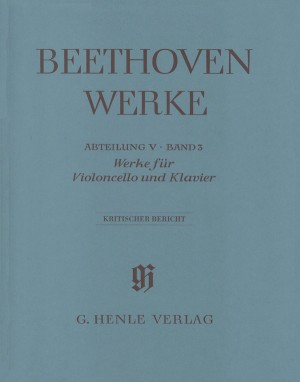 Beethoven, L v: Works for Cello and Piano