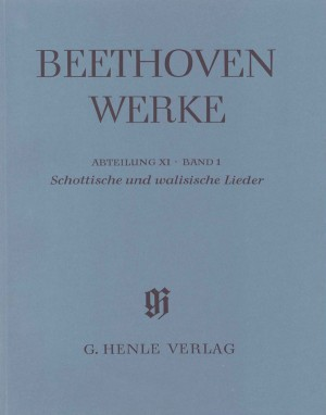 Beethoven, L v: Scottish and Welsh Songs (with critical report)