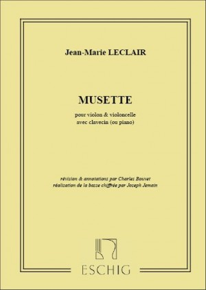 Leclair, J: Musette