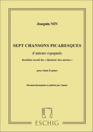 Nin: 14 Airs anciens espagnols Vol.2: Chansons picaresques