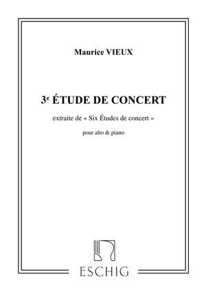 Vieux: 6 Etudes de Concert No.3 in G major