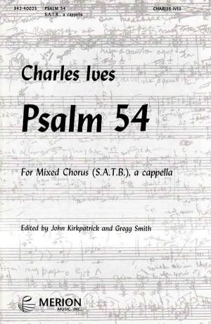 Ives: Psalm 54 (Crit.Ed.)