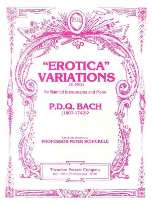 Bach: Erotica Variations, for banned Instruments and Piano Product Image