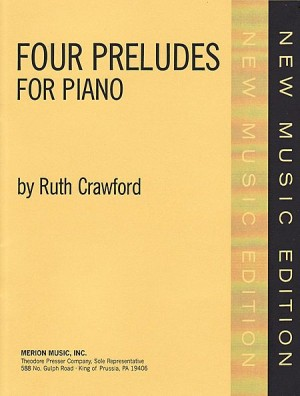Crawford Seeger: Preludes No.6 - No.9