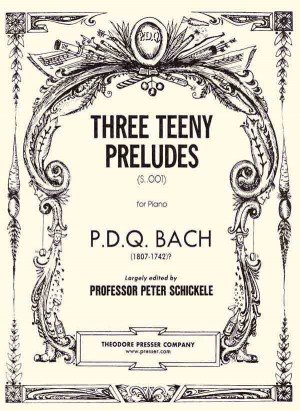 Bach: 3 Teeny Preludes
