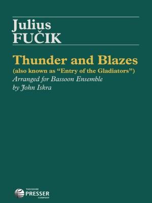 Fucik Julius Thunder & Blazes (Arr Iskra John) Bassoon Quintet Sc/Pts