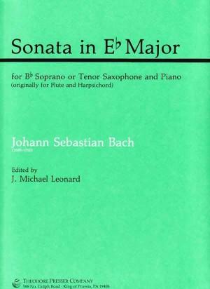 Johann Sebastian Bach: Sonata In Eb Major