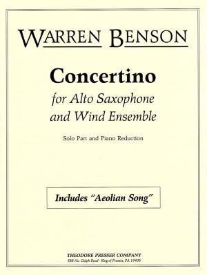 Benson: Concertino (alto)