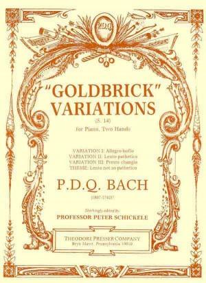 Bach: Goldbrick Variations