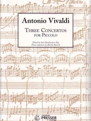 Vivaldi: 3 Concertos for Piccolo