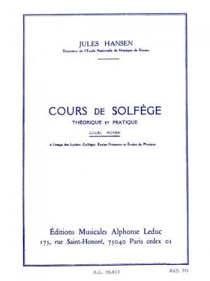 Hansen: Solfege Theorique et Pratique Cours Moyen