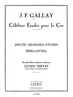 Jacques-François Gallay: Grandi Studi Brillanti (12) Op. 43 (Thevet)