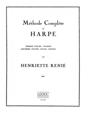 Henriette Renié: Methode de Harpe vol. 2 Harp French