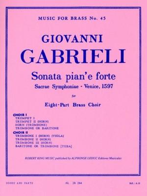 Gabrieli: Sonata Pian E Forte