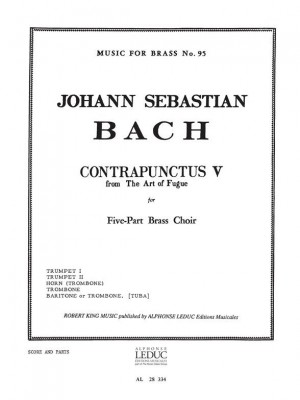 Johann Sebastian Bach: Contrapunctus V