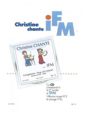 Serge Lecussant: Chante I F M 2eme Annee Album Rouge et Orange