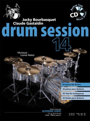 Claude Gastaldin_Jacky Bourbasquet: Drum Session 14