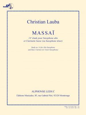 Christian Lauba: Lauba Massai 14e Etude Duo avec Saxophone