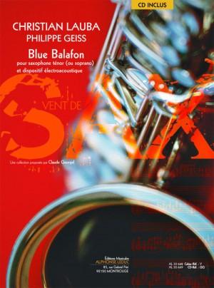 Christian Lauba_Philippe Geiss: Blue Balafon (Book/CD)