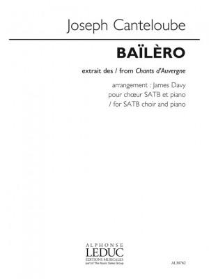 Joseph Canteloube: Baïlèro (Chants d'Auvergne)