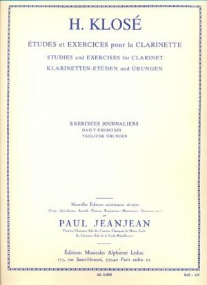 Hyacinthe-Eléonore Klosé: Exercises Journaliers