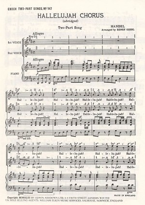 Handel Messiah Hallelujah Chorus Page 1 Of 22 Presto Sheet Music