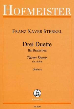 Sterkel, F. X: 3 Duets