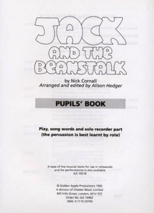Nick Cornall: Jack and The Beanstalk