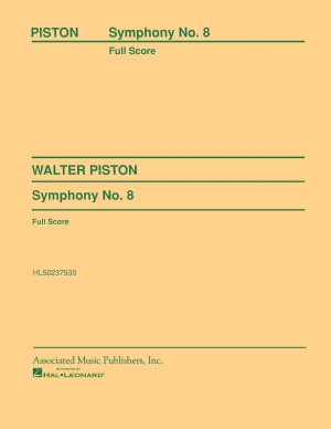 Walter Piston: Symphony No.8 (Study Score)