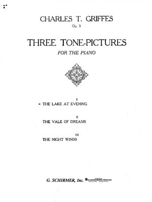 Charles T. Griffes: Lake At Evening Op.5 No.1