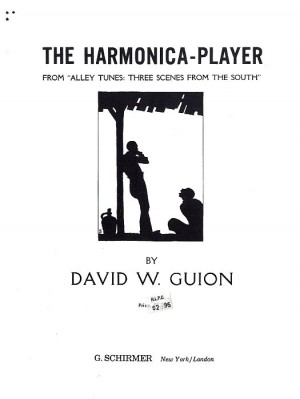 David Guion: Harmonica Player (Alley Tunes No.3)