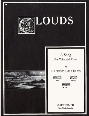 Ernest Charles: Clouds (Low Voice)
