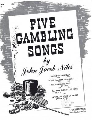 J.J. Niles: Gambler's Lament (Medium Voice) Product Image
