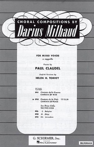 Milhaud (composer) (page 1 of 49) | Presto Sheet Music